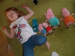 Sleeping piggies