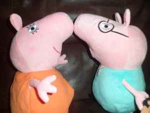 Mommy Pig and Daddy Pig