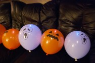 The balloons are scary too