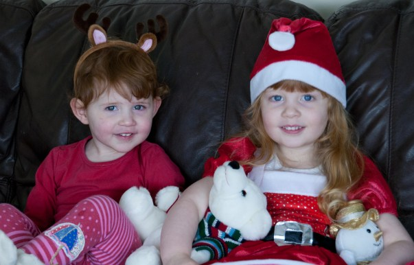 Merry Christmas love from Éowyn and Amélie xxx