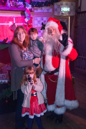 Santa's photoshoot