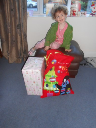 Amélie and her pressies