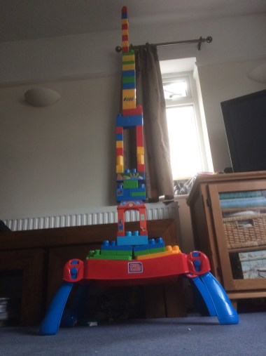 The tower of Babel err Lego