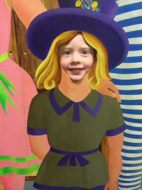 Little Welsh girl too