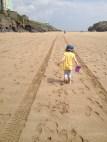 This is a long beach