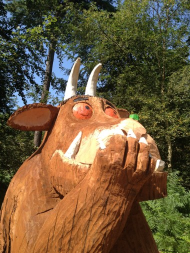 """Astounding,"" said the Gruffalo"
