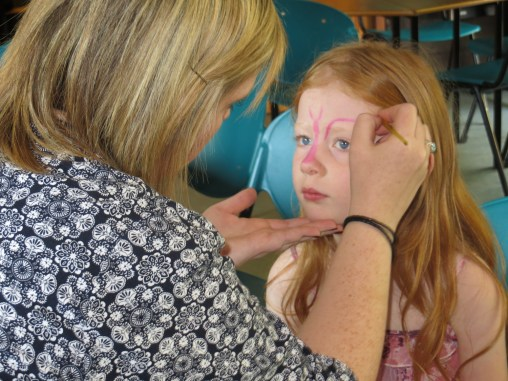 Face painting by Auntie Liz