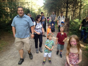 On the Gruffalo trail