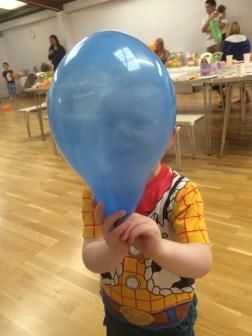 Balloon head!