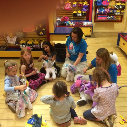 The Build-a-Bear party