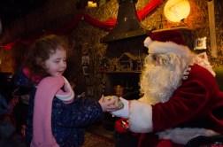 Amélie and Santa