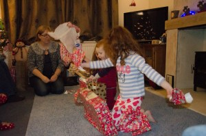 Present opening time!