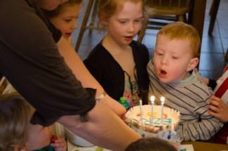 Birthday cake number one