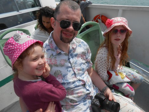 On the ferry to Venice