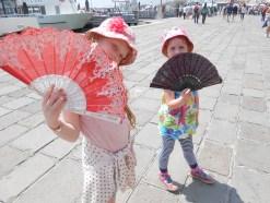 Venetian fans