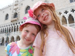 Outside the Doge's palace