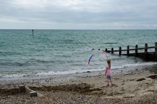 Ribbon at the sea