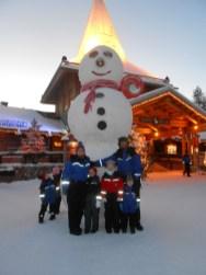 That's a big snowman