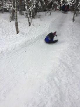 Mommy sledging I