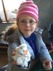 Amélie and her owl