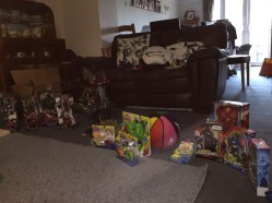 The collection of presents