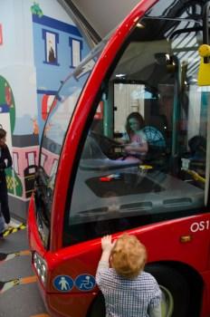 Bus driver Amélie