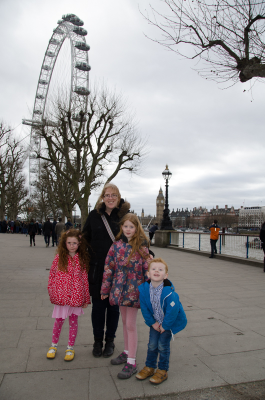 Mommy and the Baguettes in London
