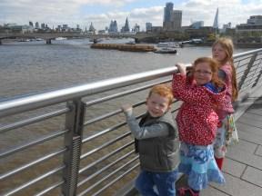 We're in London