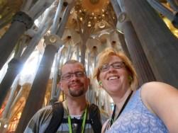 Sagrada Familia Selfie