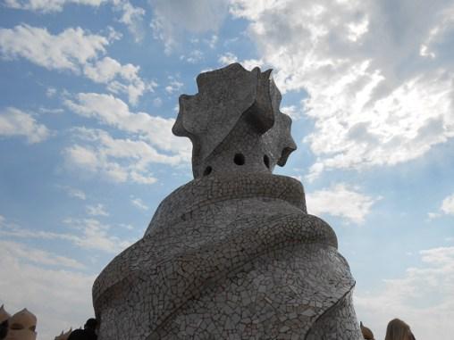 Gaudi Chimney