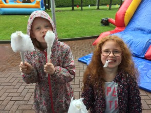 Candy Floss in the rain