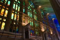 In the Sagrada Familia, too