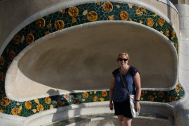 Lucinda at Park Guell
