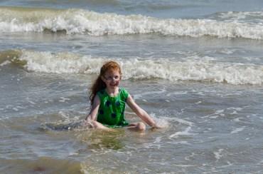 The sea won