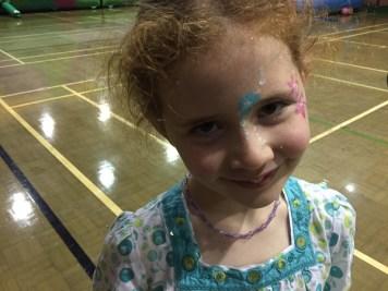Amélie's face paint