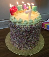 Amélie's birthday cake