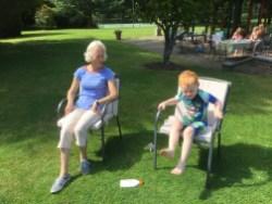 Nanny and Ezra