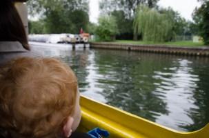 Aboard the duck