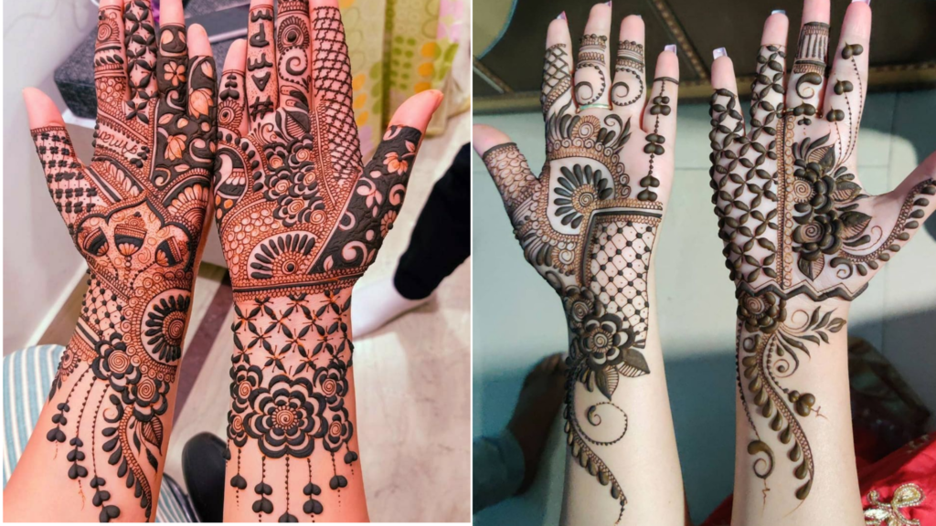 If you are looking for very easy front hand mehndi designs then here is a wide collection of unique mehndi ideas for you. Front Hand Mehndi Design Top 50 Designs Baggout