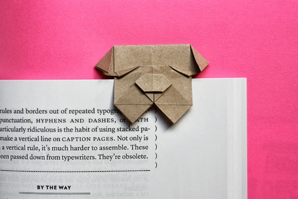 origami-bulldog-bookmark