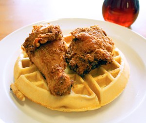 Auntie April's Chicken and Waffles