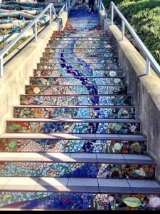 Ye Olde Tiled Steps