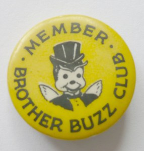 Brother Buzz Pin