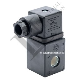 C&W SO033 Solenoid Coil With Din Connector 110
