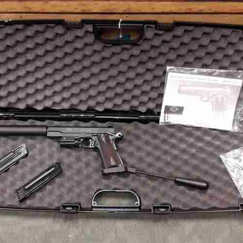 Used GSG 1911  22 Long Barrel Pistol and Sight u/s 641