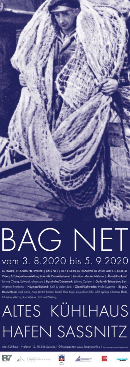 BAG NET vom 3.8. bis 5.9.2020 Ausstellungsprojekt B7 Baltic Islands Network, Video und Fotografie