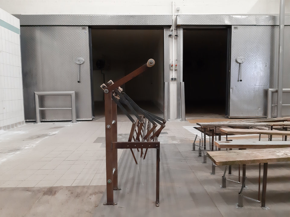 Christian Werdin und Antje Bartel, Dünungsmaschine, Installation 2020, Rügen / Deutschland