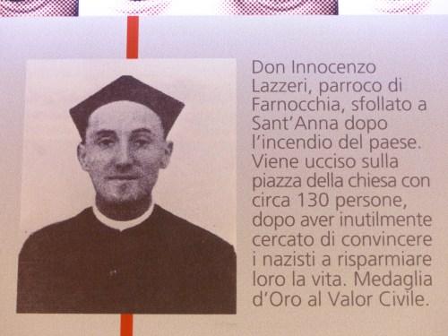 The priest Sant'Anna di Stazzema