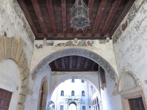 Entrance to Palazzo Tribunale