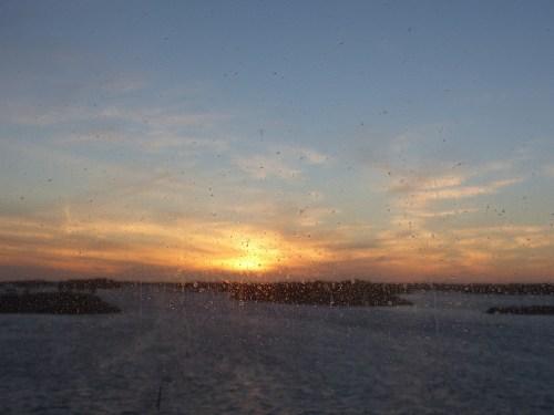 Sunrise in Sweden